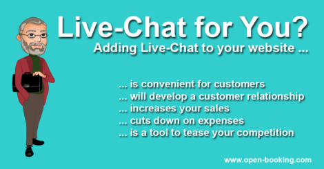 A Live-Chat Will Raise Conversion