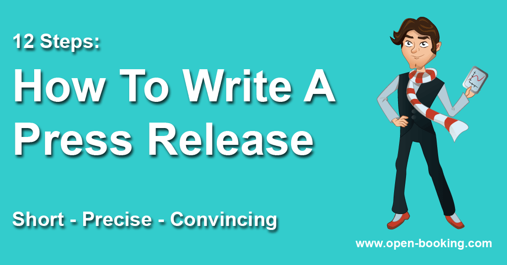How to write a press release – short, precise, convincing