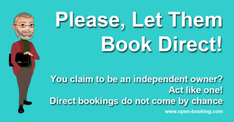 Please Let Them Book Direct!
